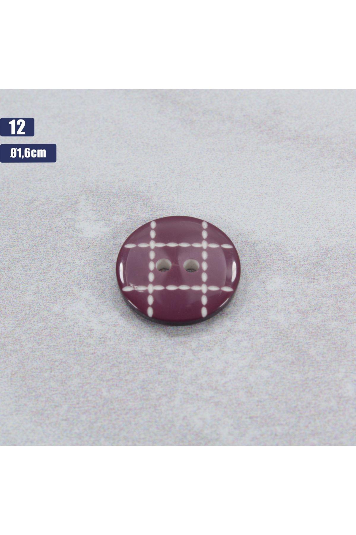 Düğme 1 Adet - 12