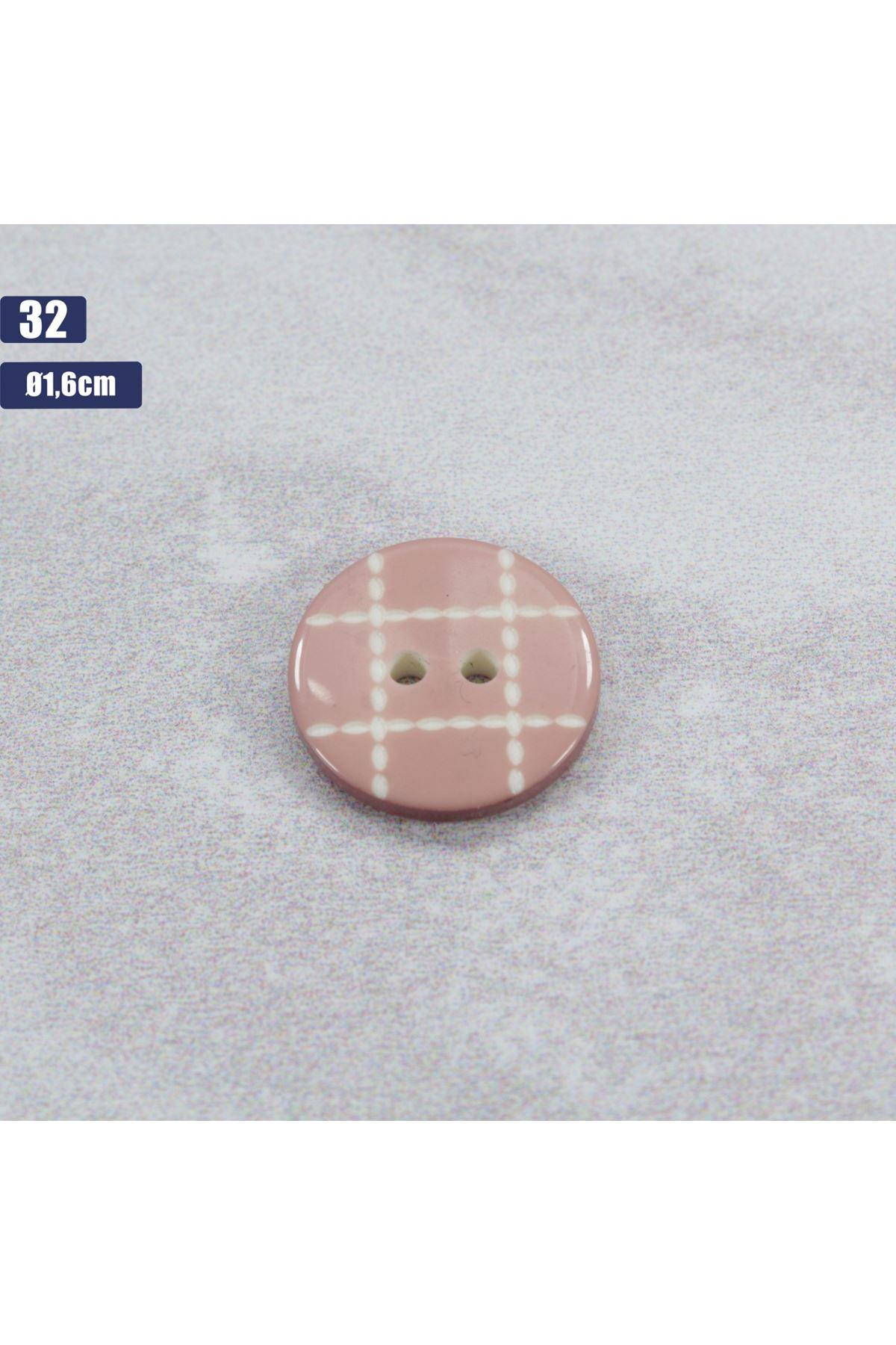 Düğme 1 Adet - 32
