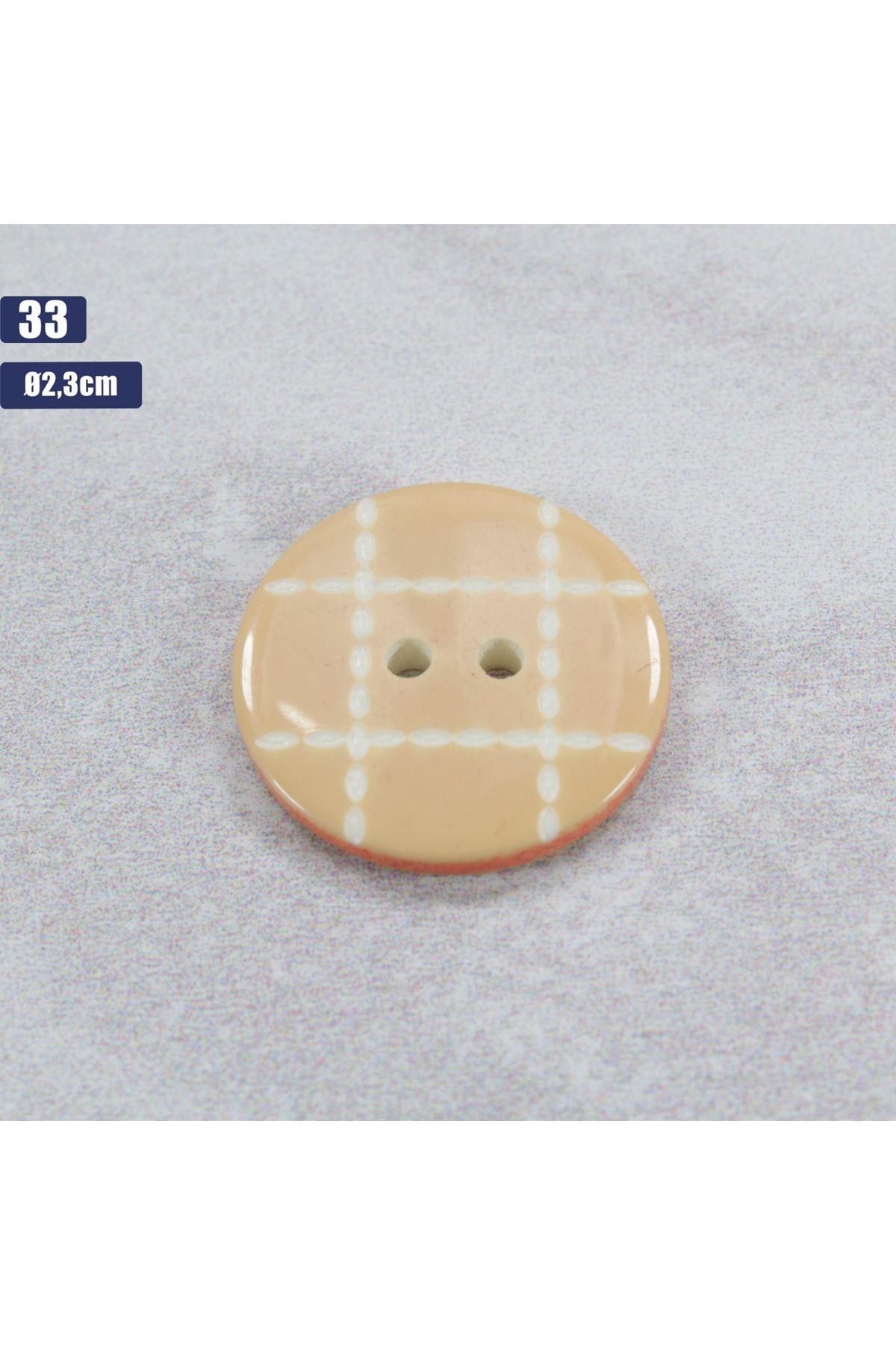 Düğme 1 Adet - 33