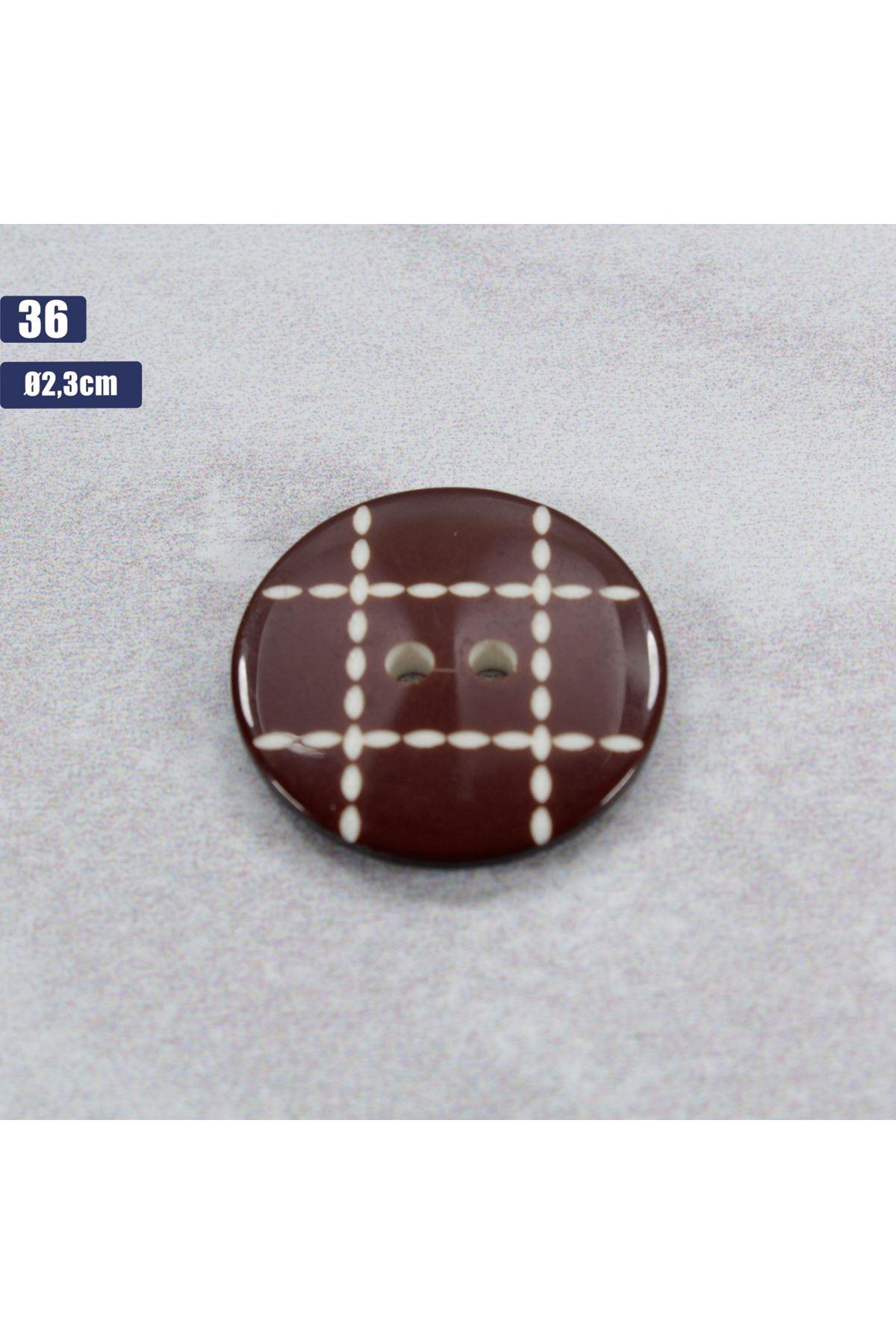 Düğme 1 Adet - 36