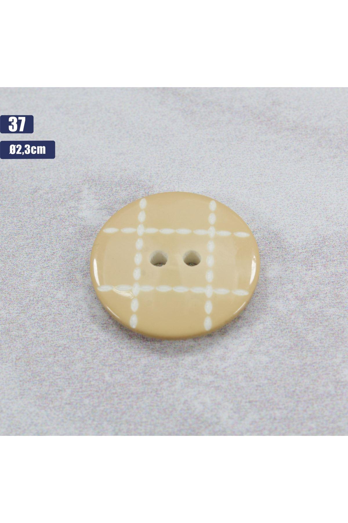 Düğme 1 Adet - 37