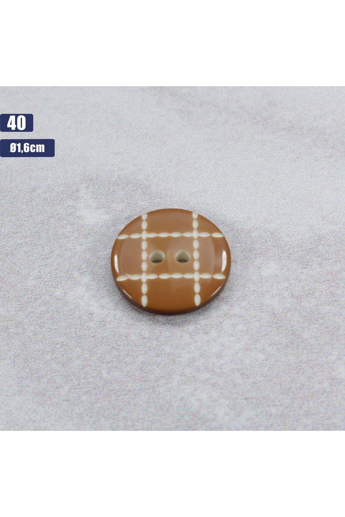 Düğme 1 Adet - 40