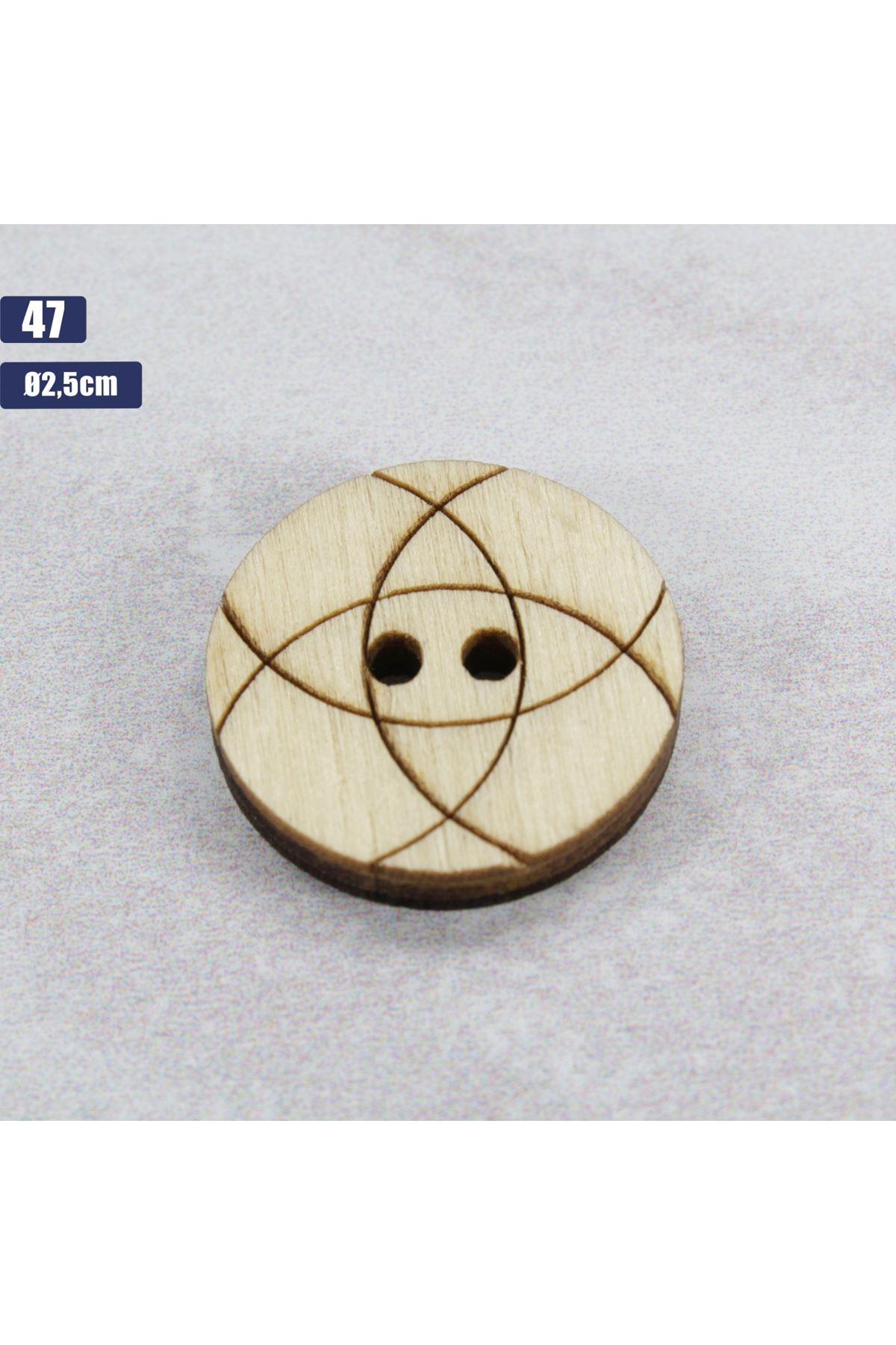 Düğme 1 Adet - 47