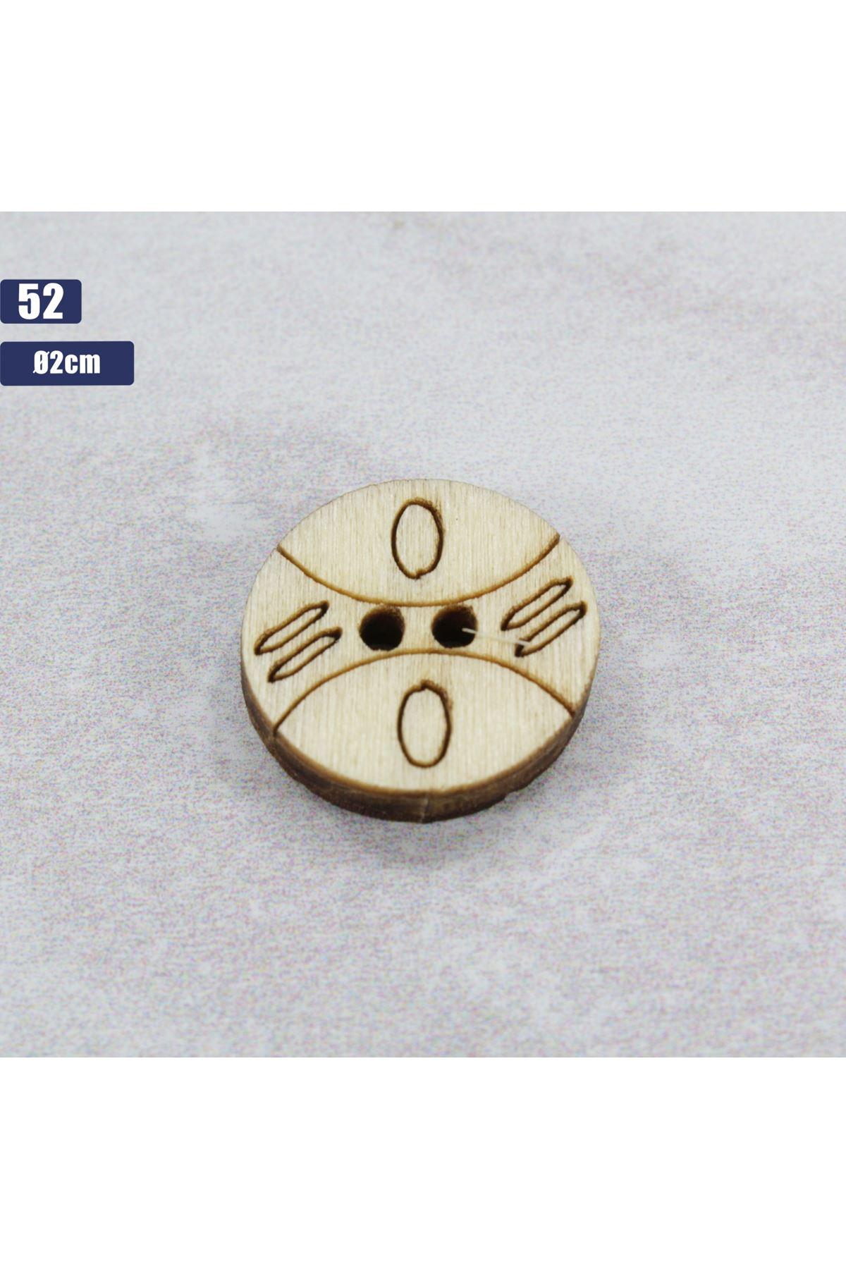 Düğme 1 Adet - 52