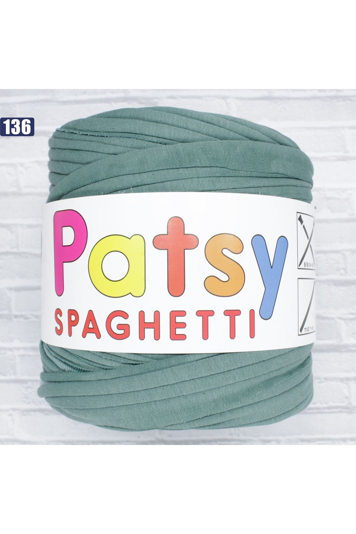 Patsy Spagetti Penye İp - 136