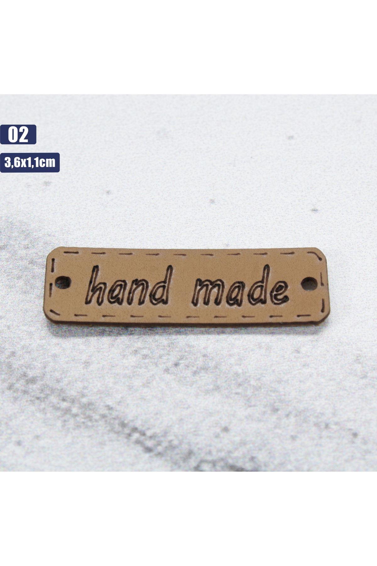Deri Handmade Etiketi 02