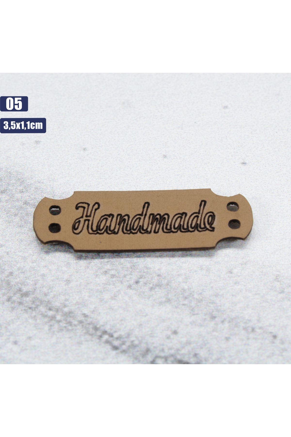 Deri Handmade Etiketi 05