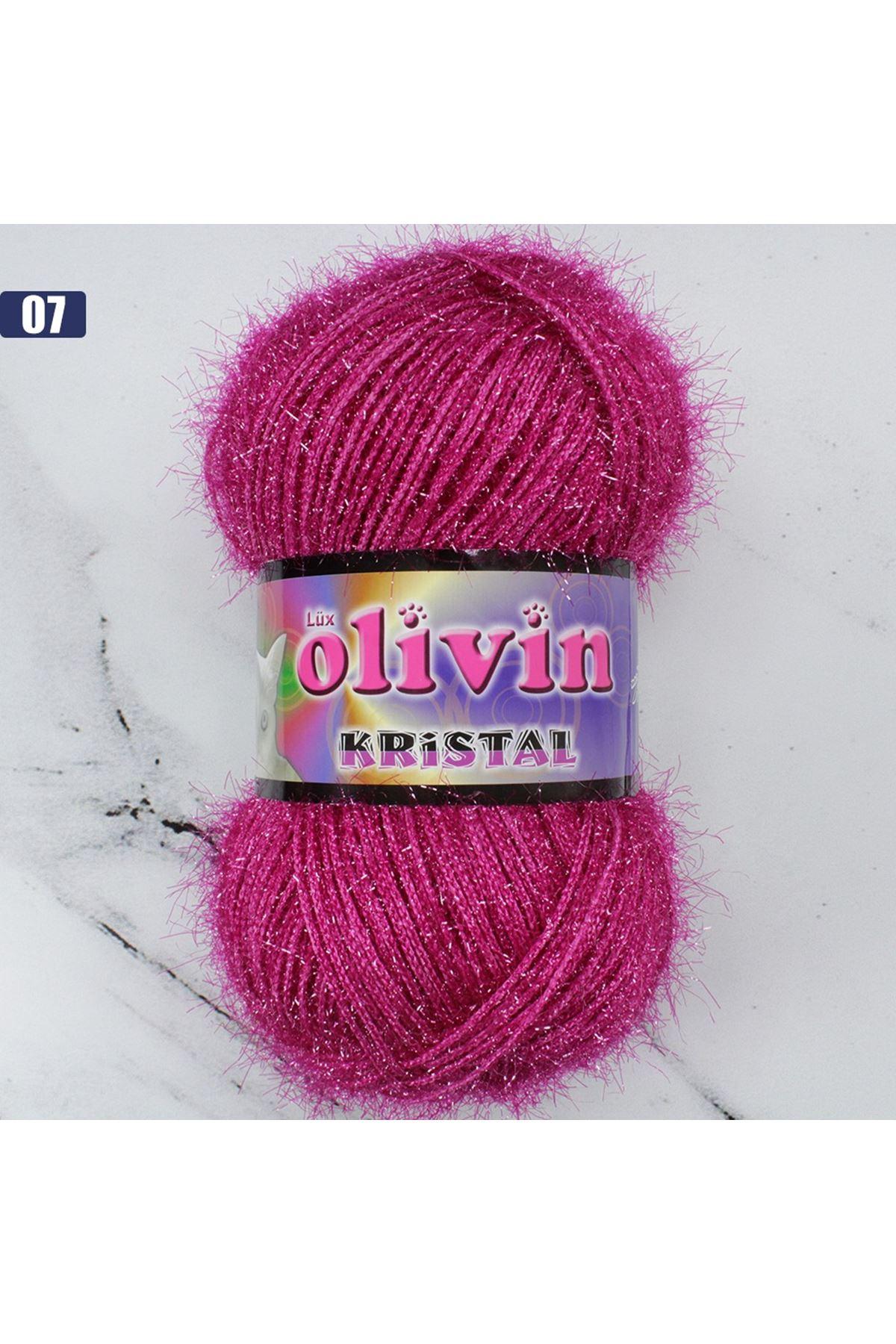 Olivin Simli Kristal  - 07