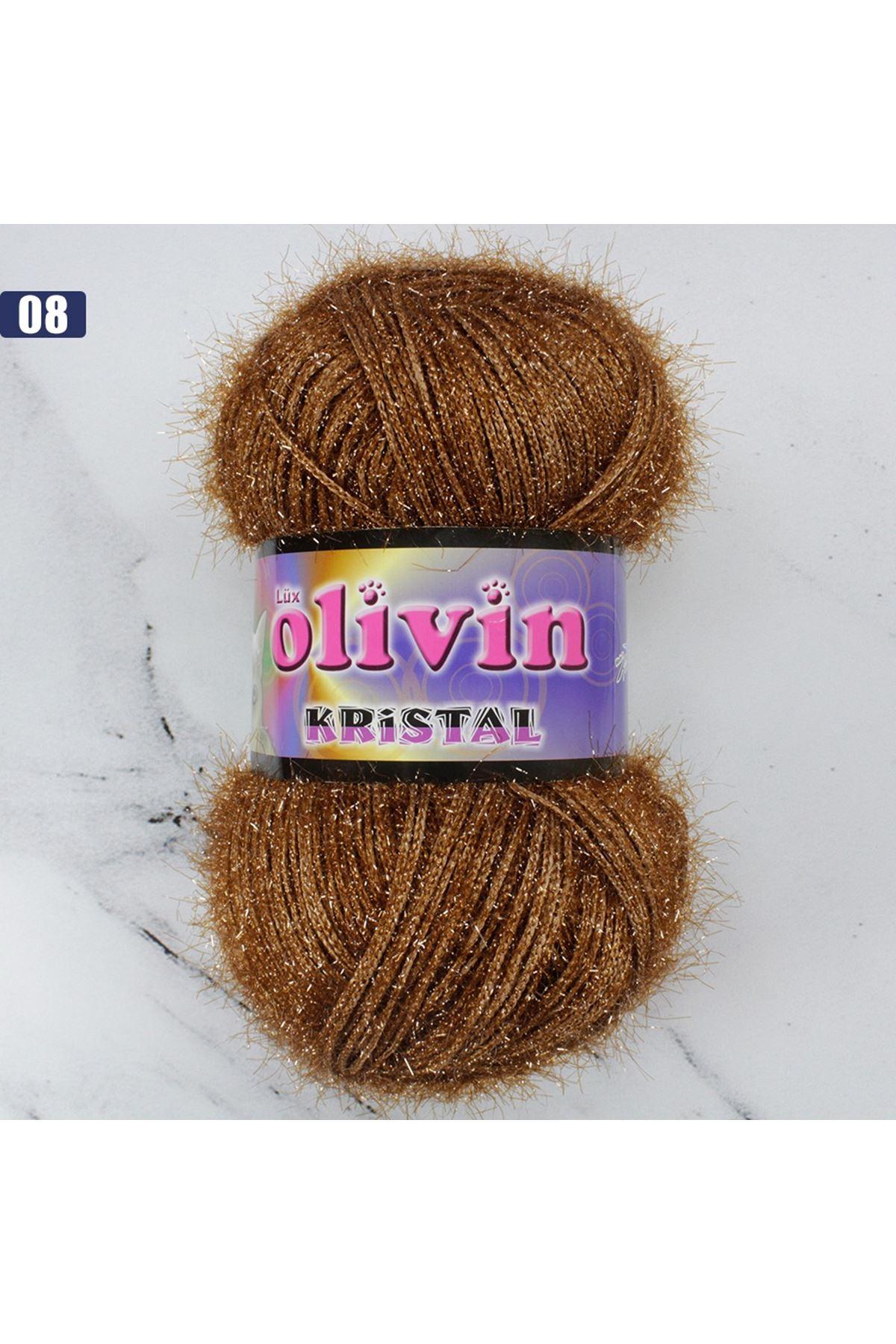 Olivin Simli Kristal  - 08
