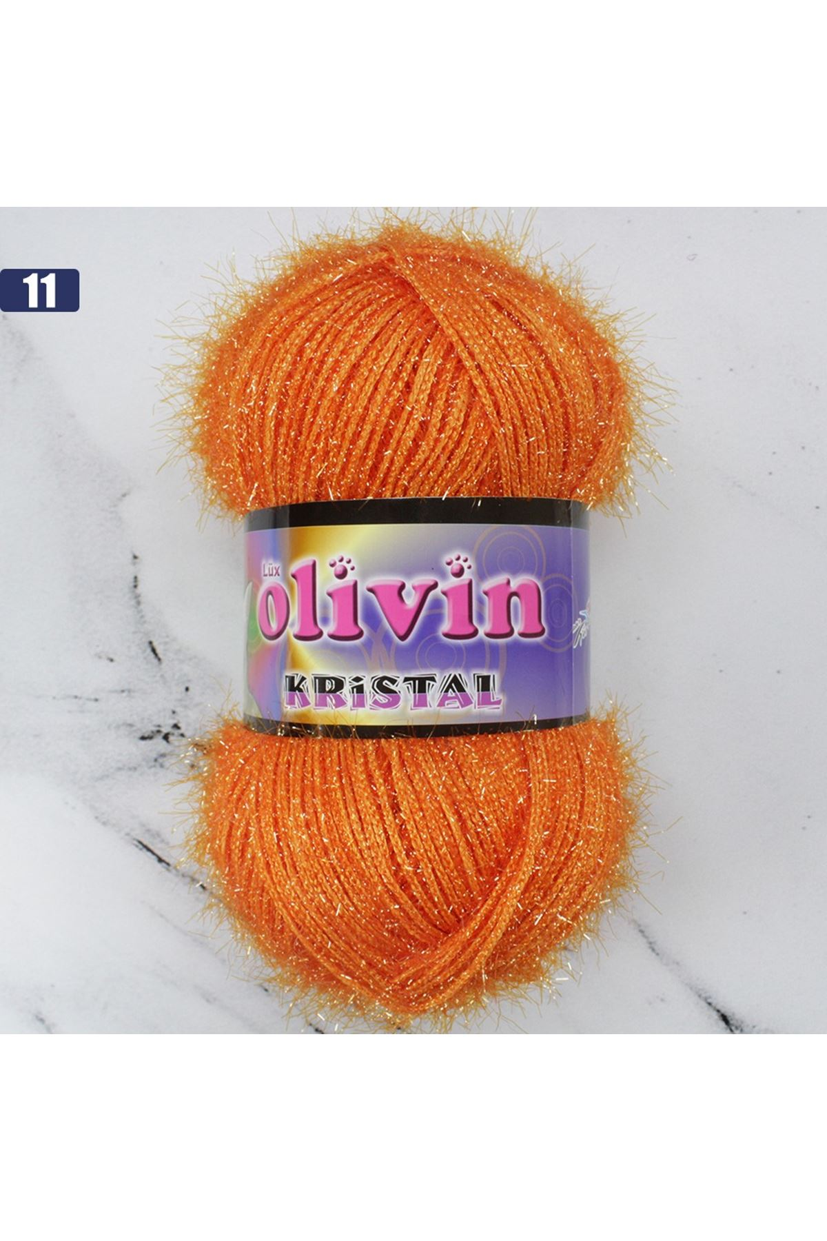 Olivin Simli Kristal  - 11