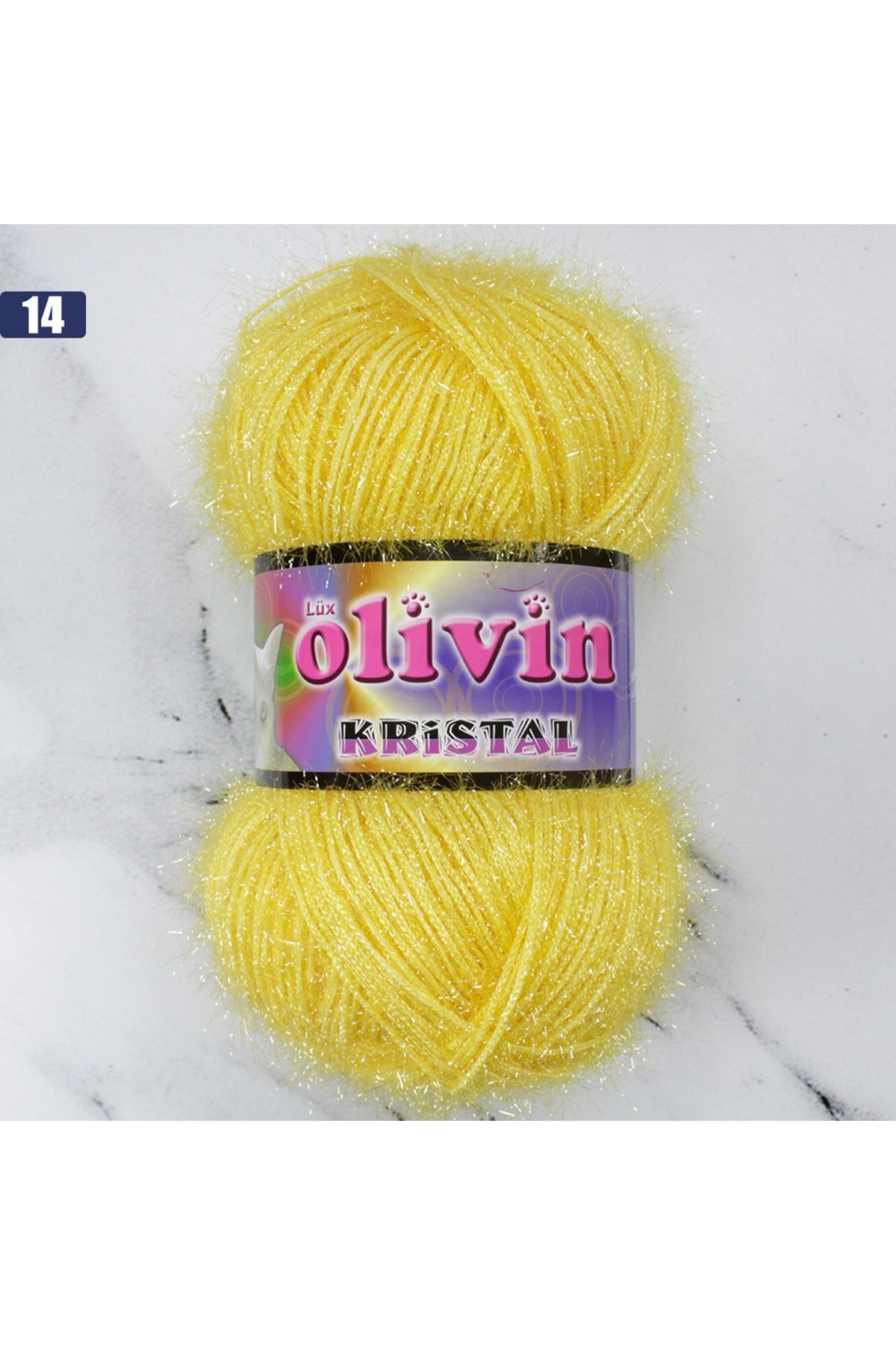 Olivin Simli Kristal  - 14