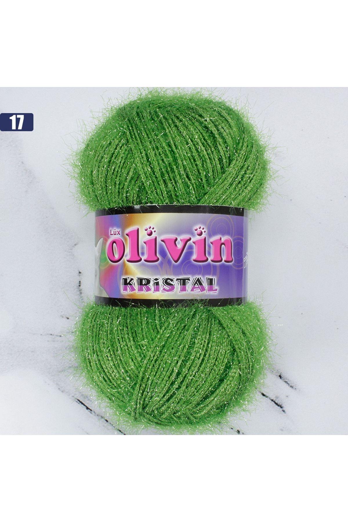 Olivin Simli Kristal  - 17