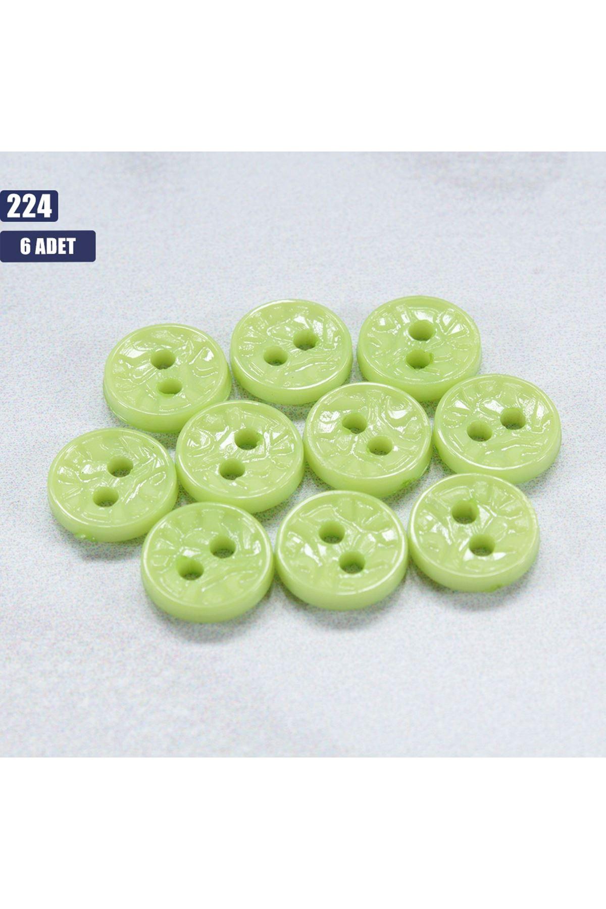 6 adet Bebek Düğmesi 224