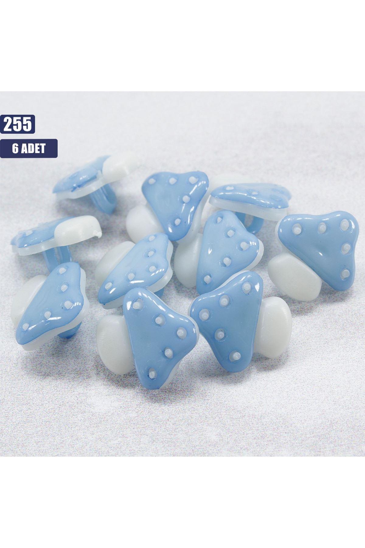 6 adet Bebek Düğmesi 255