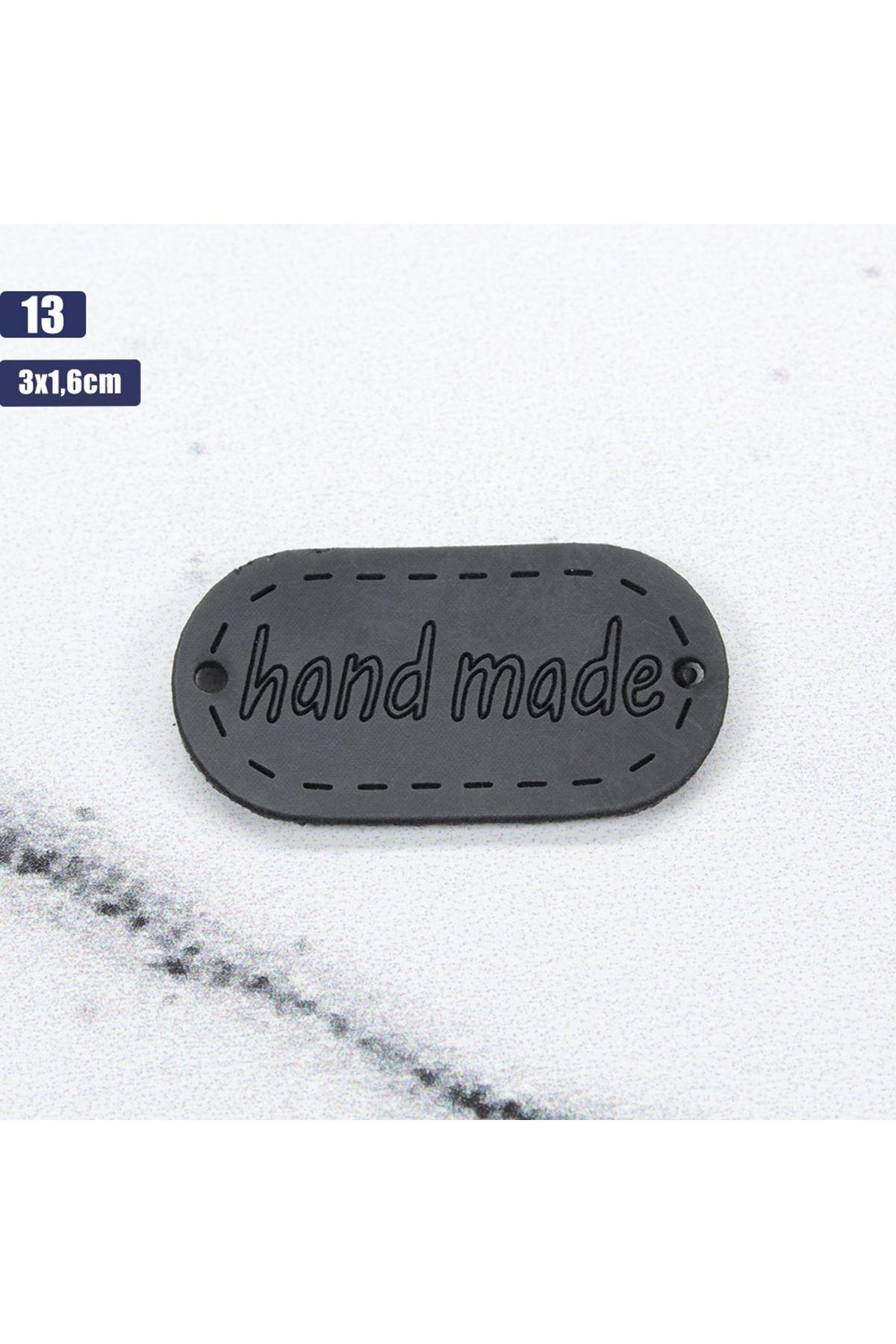 Deri Handmade Etiketi 13