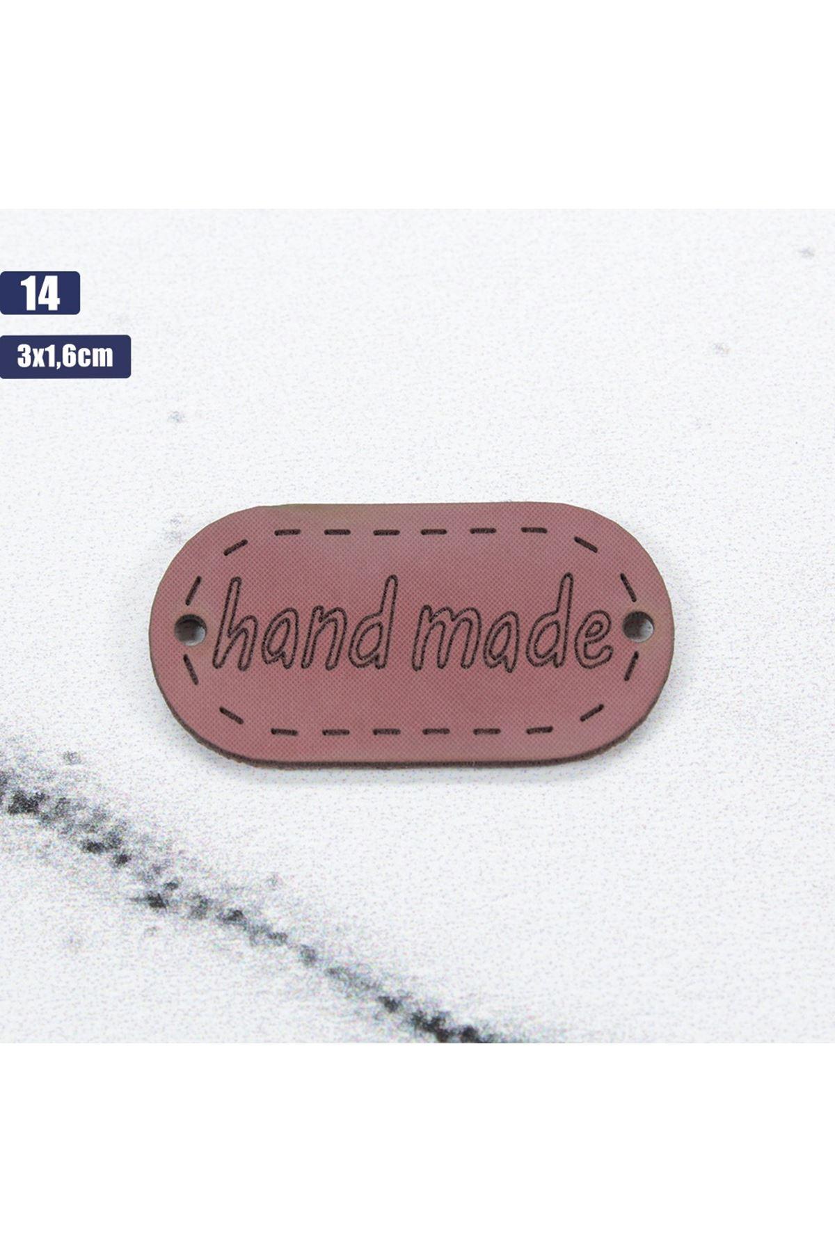 Deri Handmade Etiketi 14